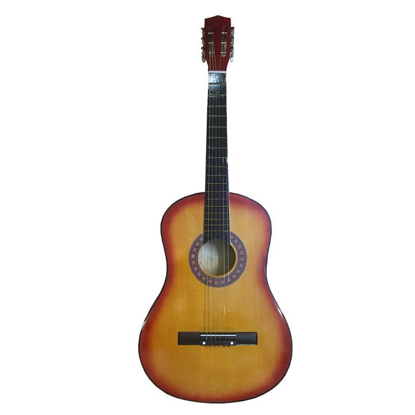 Đàn Guitar Acoustic GU03 Màu Nâu Đất Dáng D - Hàng có sẵn