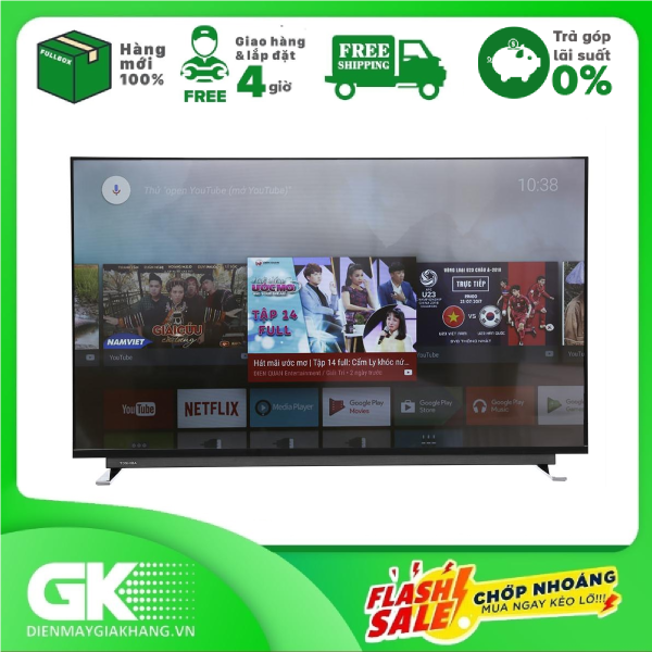 Bảng giá Android Tivi Toshiba 4K 43 inch 43U7750