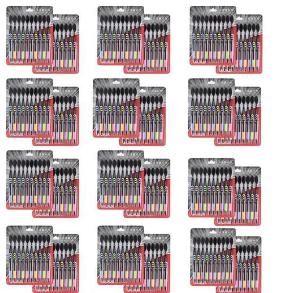 Bộ 12 vỉ Bàn Chải Đánh Răng than tre hoạt tính chống vi khuẩn ( 1 vỉ gồm 10 cái bàn chải = 120 cái )