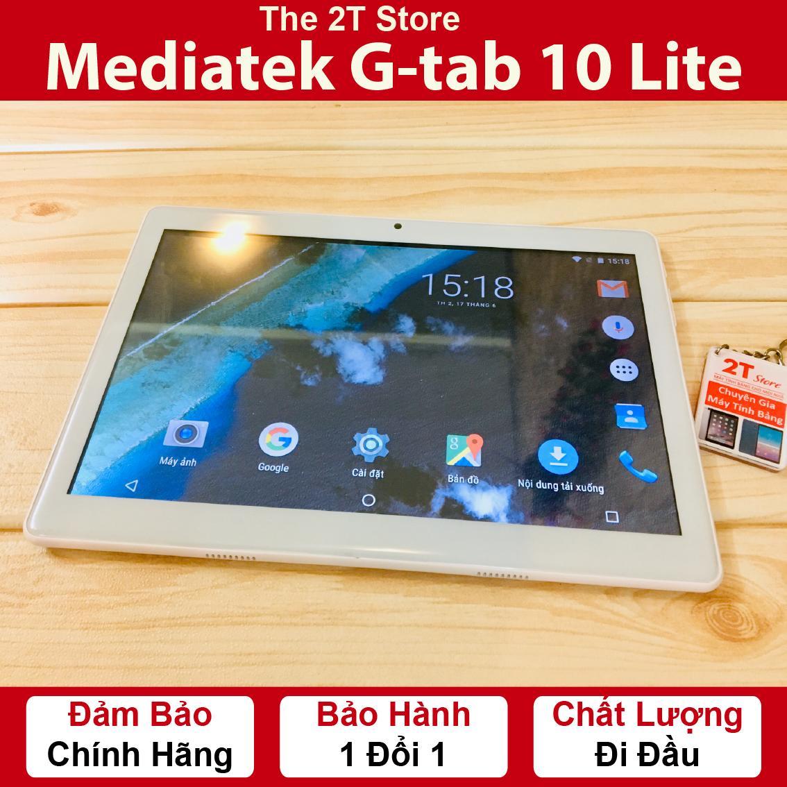Máy tính bảng Gtab 10 Lite (Wifi+3G) (Màu Bạc Xám) (Hàng nhập khẩu) Nhật Bản