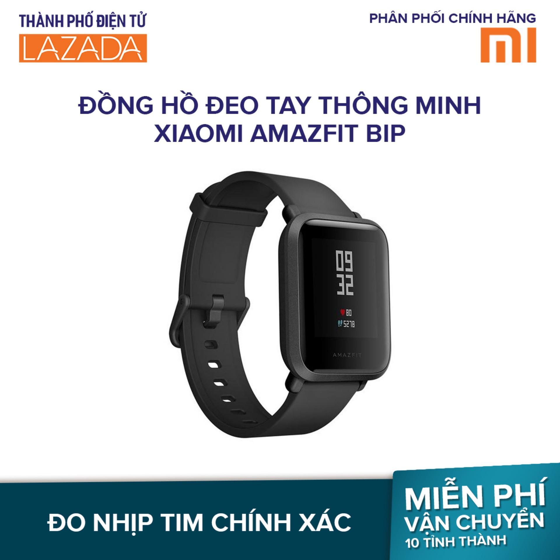 Đồng hồ đeo tay thông minh Xiaomi Amazfit Bip - Hãng phân phối chính thức