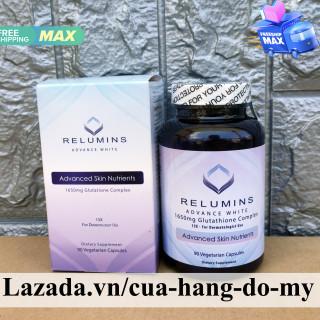 Viên uống hỗ trợ Trắng Da Glutathione Relumins Advance White 1650mg Glutathion Complex 90 viên thumbnail