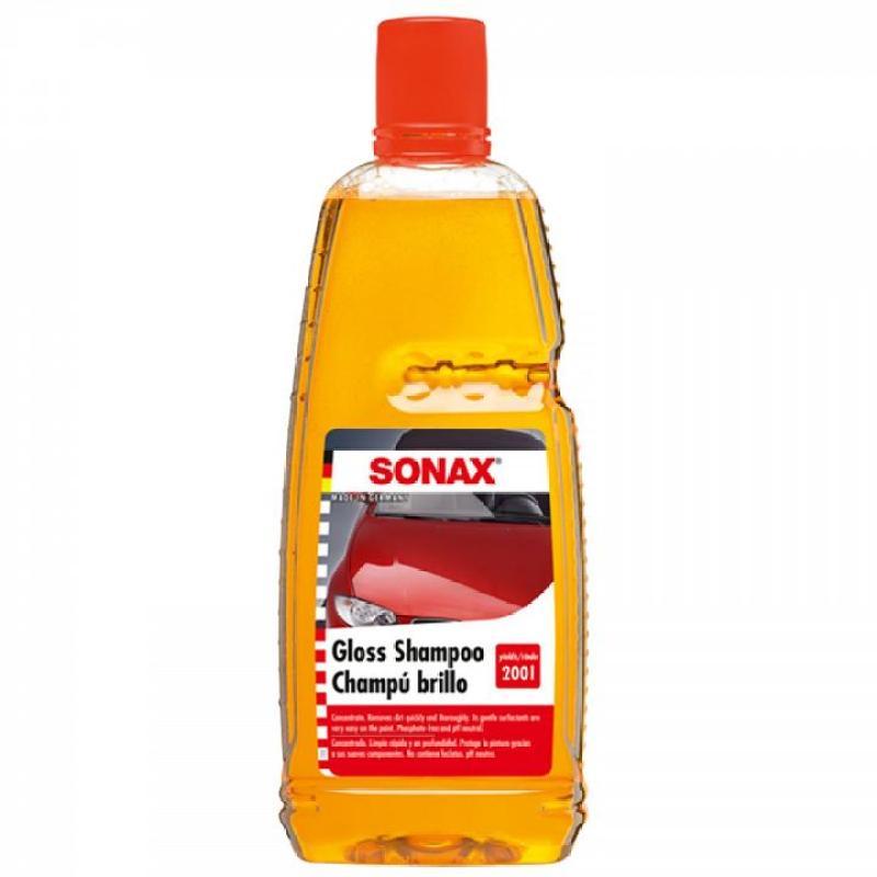 Nước rửa xe Sonax Gloss Shampoo 314300 - 1000ml (Vàng)