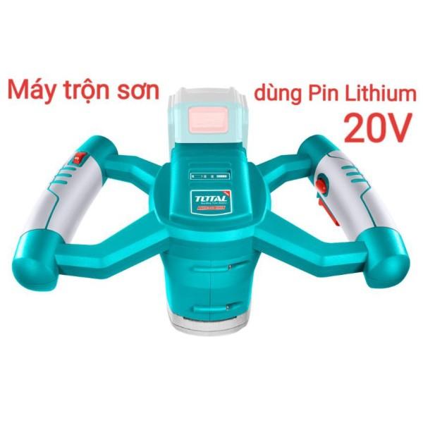 Máy trộn sơn dùng pin Lithium 20V TOTAL TMXLI2001