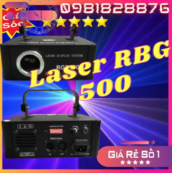 Đèn Laser RGB 500 Quét Tia Cho Phòng Bay Phòng Karaoke Đèn Sân Khấu