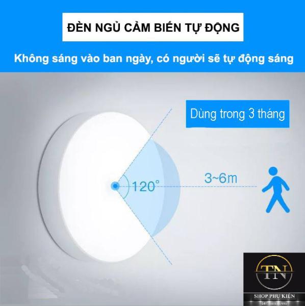 Đèn sạc cảm ứng thông minh cho tủ quần áo, cầu thang, phòng ngủ | Sử dụng lên đến 90 ngày