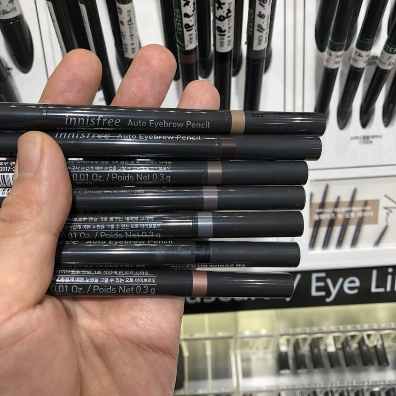 Bút chì kẻ mày Innisfree Auto Eyebrow Pencil giá rẻ