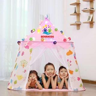 Lều cho bé Ngủ Công Chúa Hoàng Tử Hình Dáng Lâu Đài Cao Cấp Cho Bé Trai Bé Gái S6 thumbnail