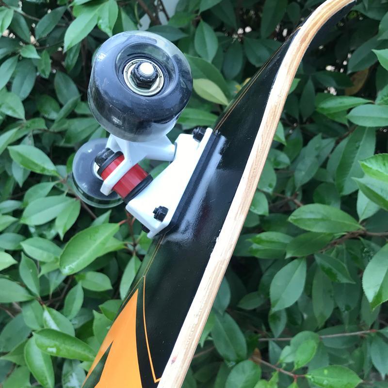 Ván trượt skateboard thể thao chất liệu gỗ phong ép cao cấp 8 lớp mặt nhám 10