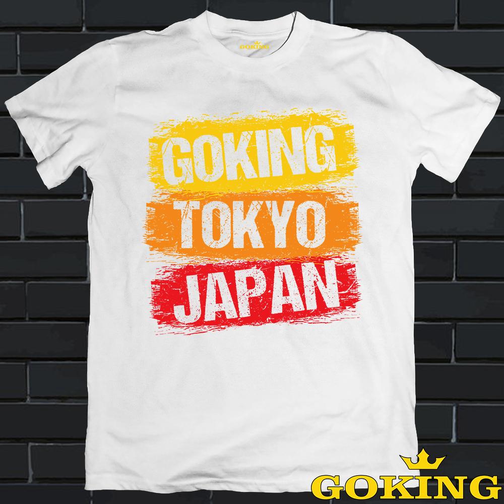 Áo thun nam thoát nhiệt Nhật Bản GOKING in 3D siêu đẹp, áo phông cotton thoáng mát, thấm hút mồ hôi