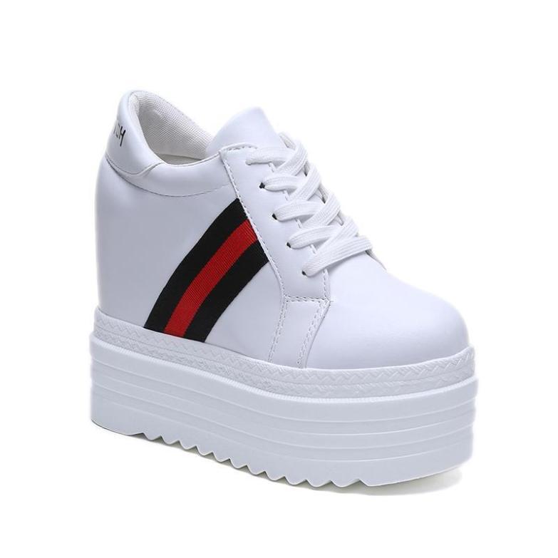 Giày bánh mì nữ đế độn cá tính siêu hot cao 11cm BM081 giá rẻ
