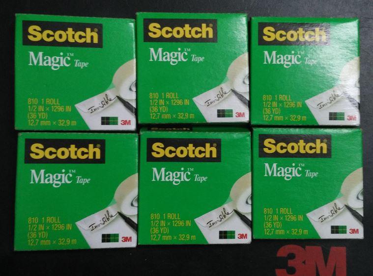 Mua Combo 10 hộp BĂNG KEO KỲ DIỆU 3M 810 SCOTCH MAGIC TAPE 12,7mmx32,9m