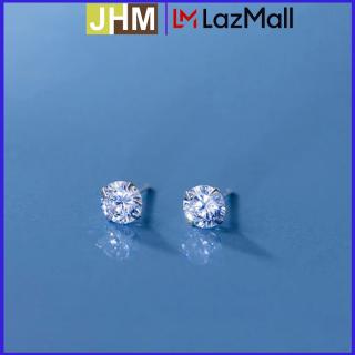 [QUÀ TẶNG KHAI TRƯƠNG] Khuyên tai bạc ý cao cấp JHM Bông tai nữ Khuyên tai bạc nữ 925 thumbnail