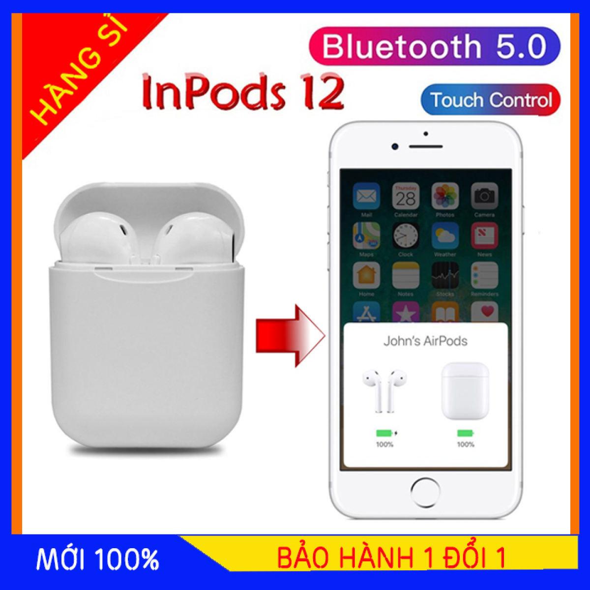 Tai Nghe Bluetooth Không Dây i11 Bản Plus Âm Thanh v5.0 Nút Cảm Ứng, Tai Nghe Không Dây, Tai Nghe Bluetooth Hỗ Trợ Mọi Điện Thoại Cảm Ứng, Tai nghe cho samsung/android/iphone/ipad/oppo