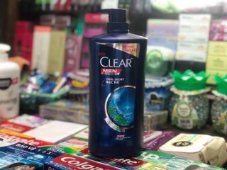 DẦU GỘI CLEAR MEN BẠC HÀ MÁT LẠNH 900G thumbnail
