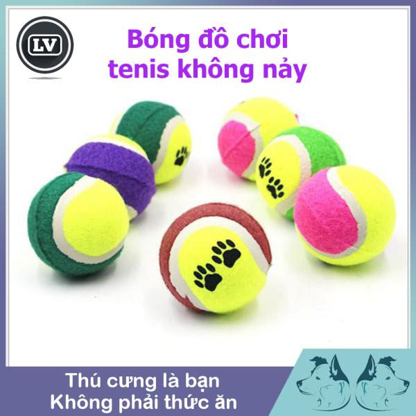 Bóng tenis đồ chơi cho chó mèo Phụ kiện Long Vũ