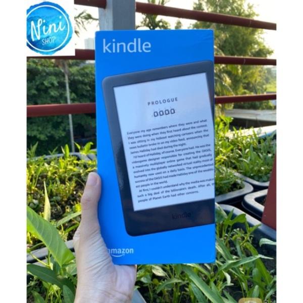 Máy đọc sách Kindle Basic 2019 loại có đèn nền 167 ppi bảo hành 1 năm sản phẩm tốt độ bền cao cam kết sản phẩm nhận được như hình và mô tả