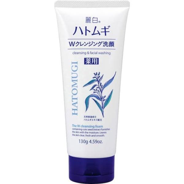 [Mã COSHOT21 hoàn 8% xu đơn 250K] Sữa Rửa Mặt Hatomugi Naturie Hạt Ý Dĩ 130g Nhật Bản