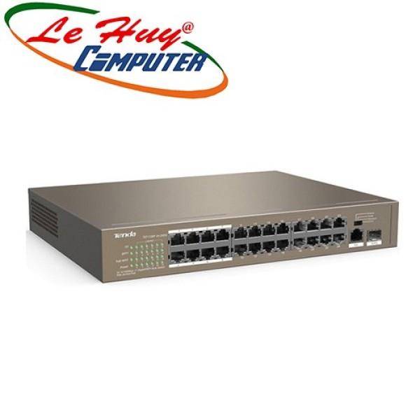 Bảng giá Bộ Chia Mạng Tenda Tef1126P 24-Port 10/100Mbps +1 Ge/Sfp 24Slot Poe Phong Vũ