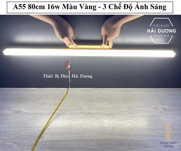 Bảng giá Đèn Soi Tranh- Đèn Rọi Gương Led Model A55 80cm 16w - 3 Chế Độ Ánh Sáng