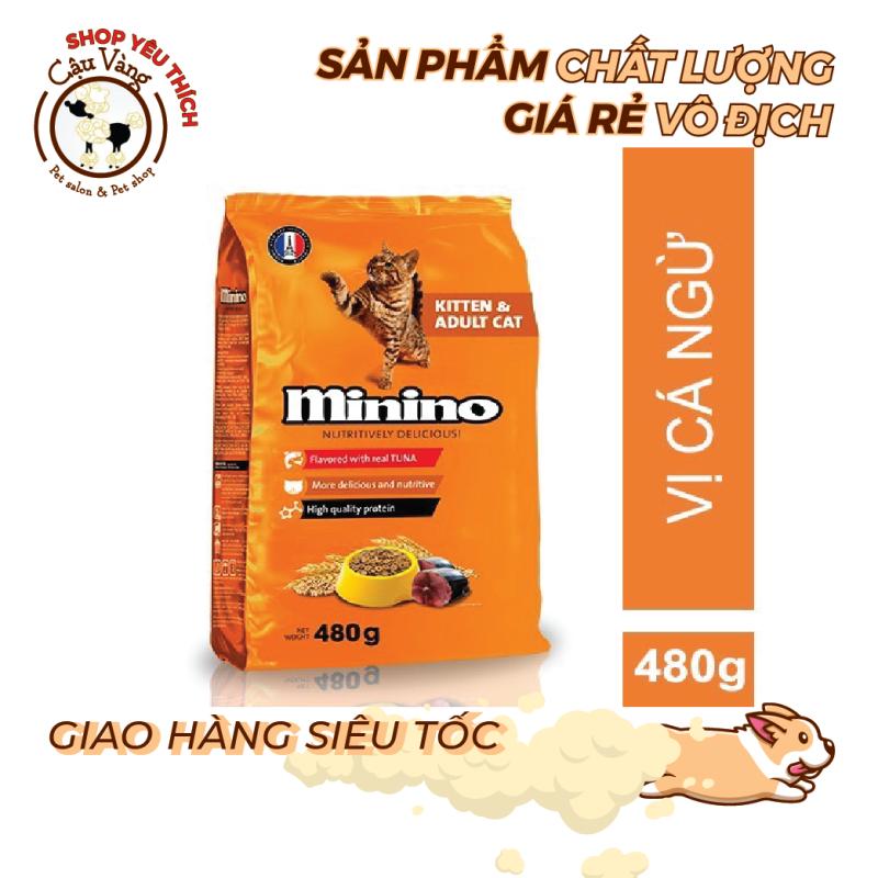 [480G] Minino Tuna dành cho mèo mọi lứa tuổi