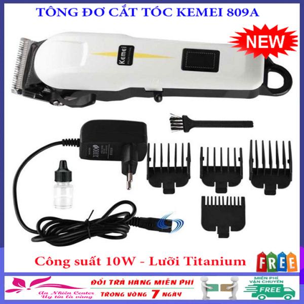 Tông đơ cắt tóc Kemei 809A cho trẻ em, người lớn và thú cưng tại nhà, tông đơ, tăng đơ cắt tóc, hớt tóc không dây cao cấp, màn LCD, tong do cat toc, tông đơ pin chuyên nghiệp Kemei 27C, Kemei 032