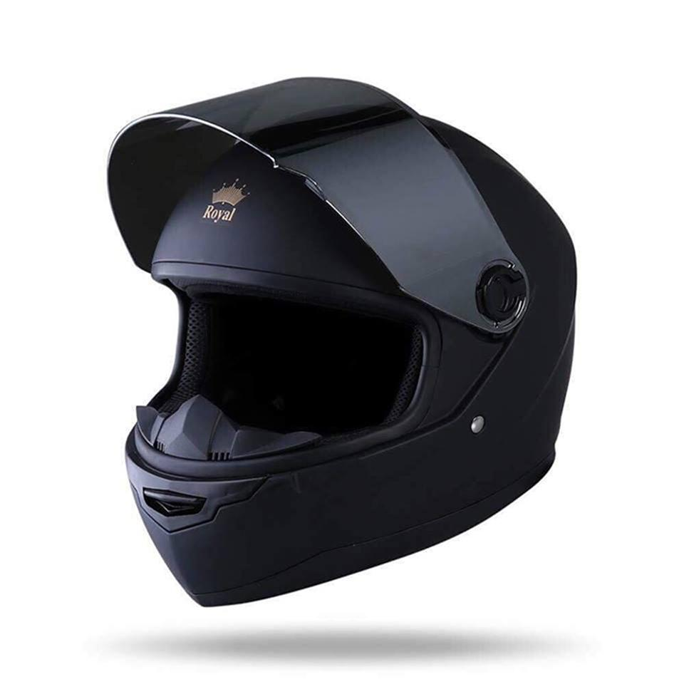 Mũ Bảo Hiểm Fullface M136 - Đen Nhám Nhật Bản