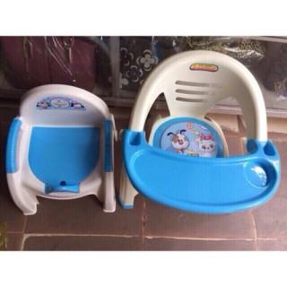 Combo ghế bô + ghế ăn dặm nhựa Việt Nhật thoải mái rất tốt cho bé thumbnail