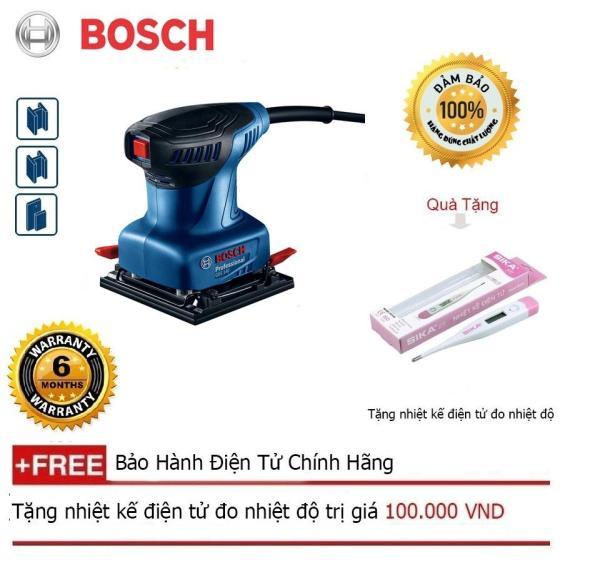 Máy chà nhám vuông Bosch GSS 140 + Quà tặng nhiệt kế điện tử