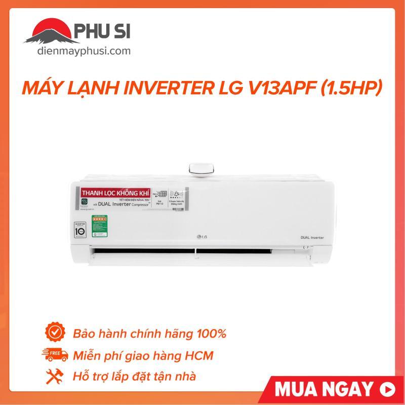 Bảng giá Máy Lạnh Inverter LG V13APF (1.5HP)