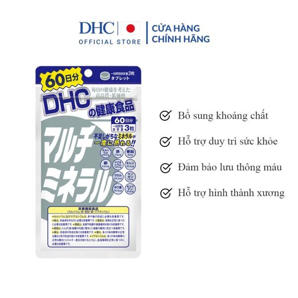 Viên Uống Khoáng Tổng Hợp DHC Multi Minerals 60 Ngày nhập khẩu