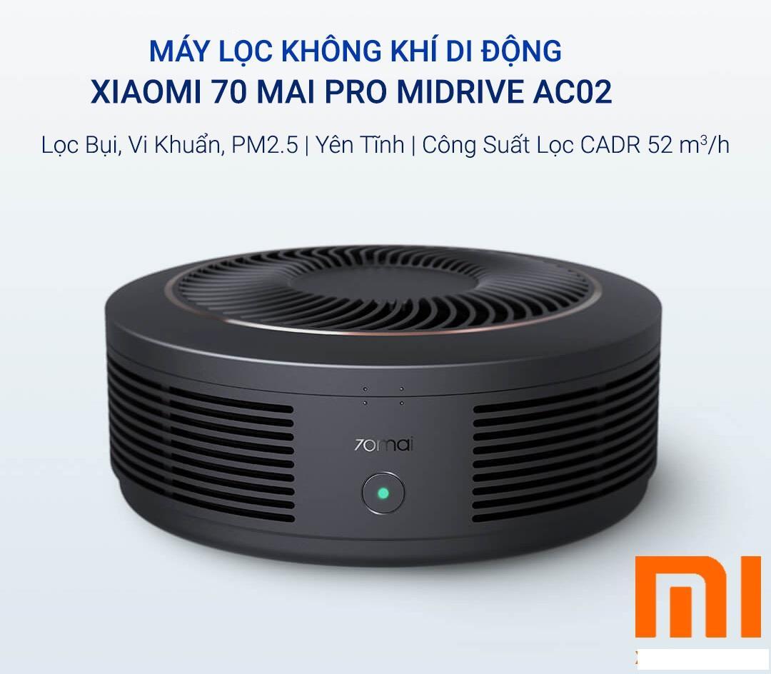 Bảng giá Máy Lọc Không Khí Di Động Xiaomi 70 Mai Pro MiDrive AC 02