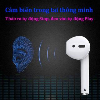 Tai nghe Bluetooth, tai nghe chất lượng âm thanh HD, Bass cực mạnh, Tai nghe Bluetooth 5.2 kết nối nhanh, ổn định, Tai nghe Bluetooth full chức năng. Tai nghe bluetooth pin trâu, Tai nghe bluetooth cho iphone, samsung, xiaome, vivo, oppo. 5