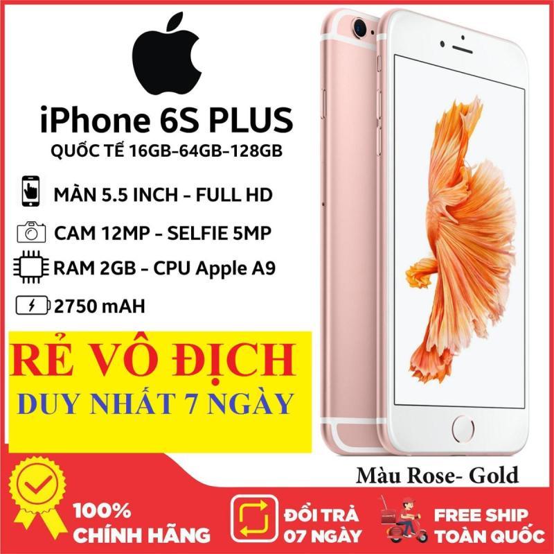 Điện thoại Chính Hảng giá rẻ Aple IPHONE6S PLUS - 64GB  - Bảo hành 12 tháng, Vân Tay nhạy