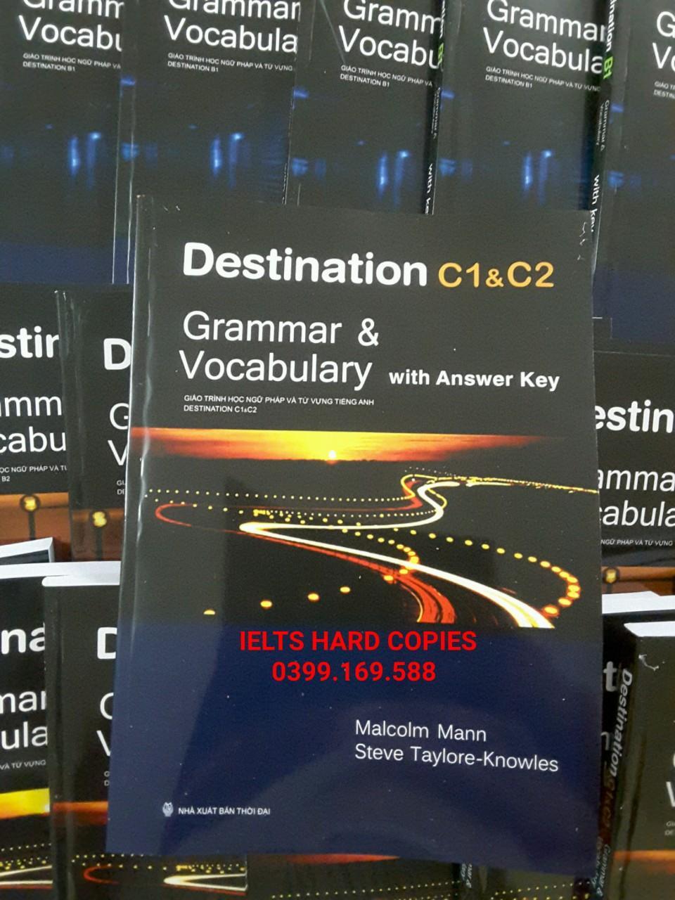 Offer Khuyến Mãi Destination C1&C2 Grammar & Vocabulary - In đen Trắng - Bìa Màu