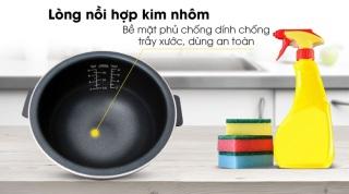 Nồi cơm điện cao tần Bluestone 1.5 lít RCB-5987-hàng trưng bày chính hãng-Cơm chín đều, tơi xốp, bổ dưỡng hơn nhờ công nghệ từ trường IH. Đa chức năng Nấu cơm, nấu cháo, súp, nấu nhanh, hấp, làm bánh... thumbnail