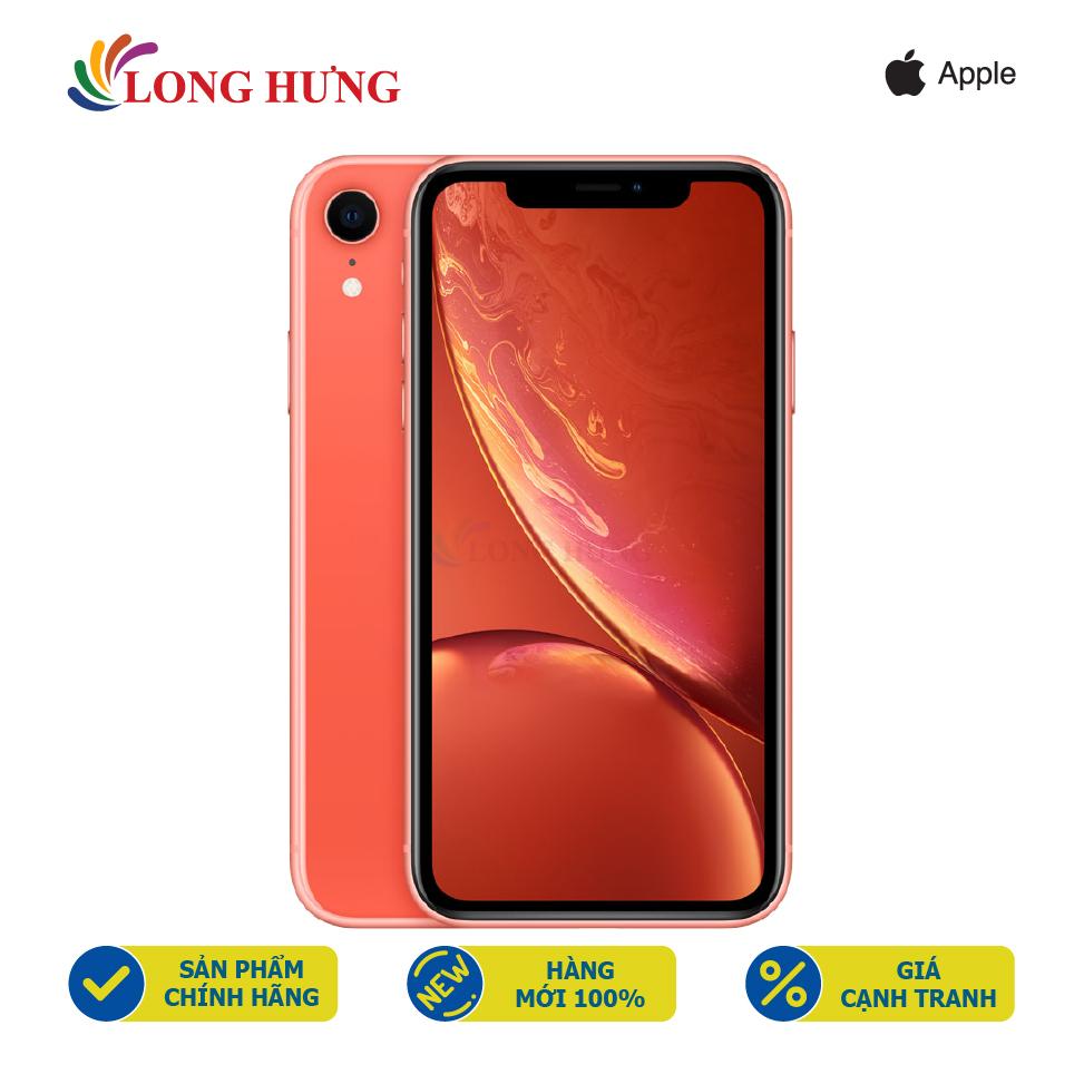 [Mã ELJUL21 giảm 10%] Điện thoại Apple iPhone Xr 64GB (VN/A) - Hàng chính hãng - Màn hình 6.1inch Liquid Retina LCD, Camera sau 12MP, Pin 2942mAh