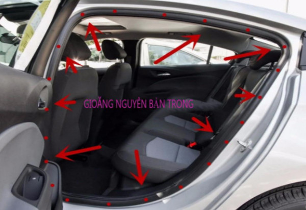 Gioang cao su xe ô tô nguyên bản thành cửa Zin theo hãng xe Giá 1m