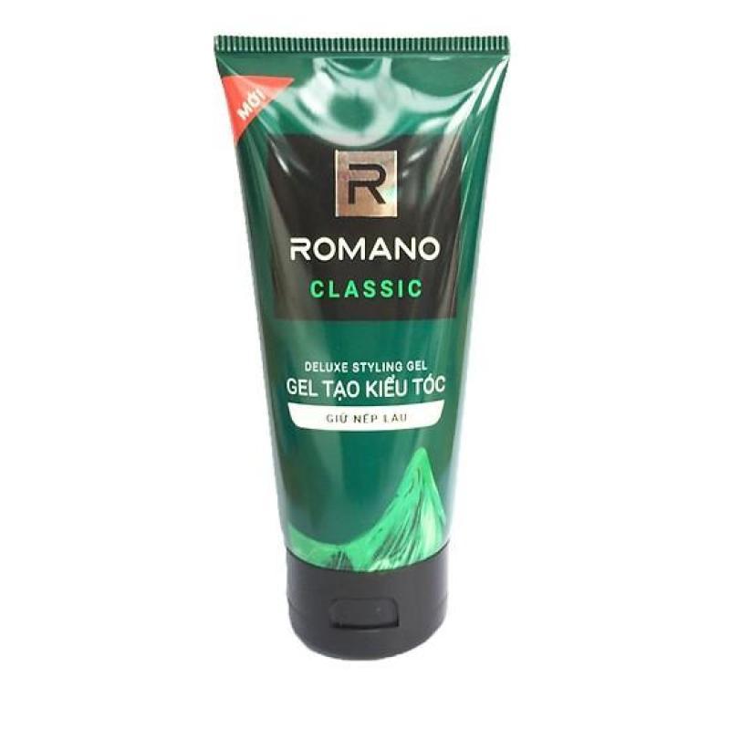 Combo2 Gel vuốt tóc Romano Classic giữ tóc cứng vừa loại 4.150g giá rẻ