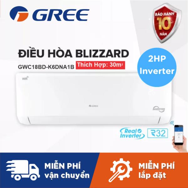 Bảng giá Máy Lạnh GREE BLIZZARD 2HP Inverter Wifi - Phù Hợp Phòng 15m2 Đến 20m2