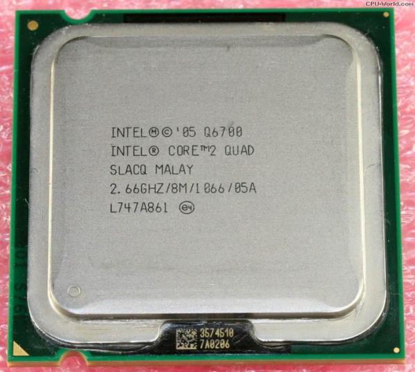 Bảng giá CPU Intel® Core 2 QUAD Q6700 kèm keo tản nhiệt Phong Vũ