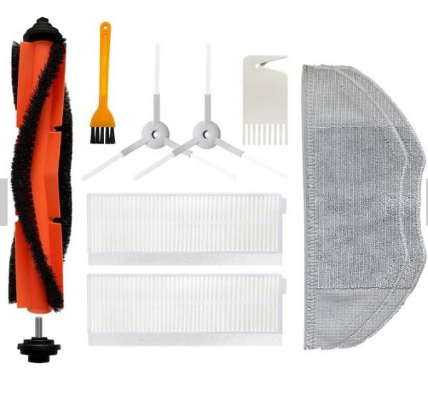 Bộ phụ kiện thay thế cho robot lau hút bụi Xiaomi Mi Robot Vacuum Mop Essential,mijia G1 (Chất lượng cao,giá hợp lý)