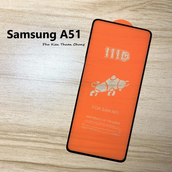 Kính Cường Lực 111D Samsung A51 Full Keo Full màn hình