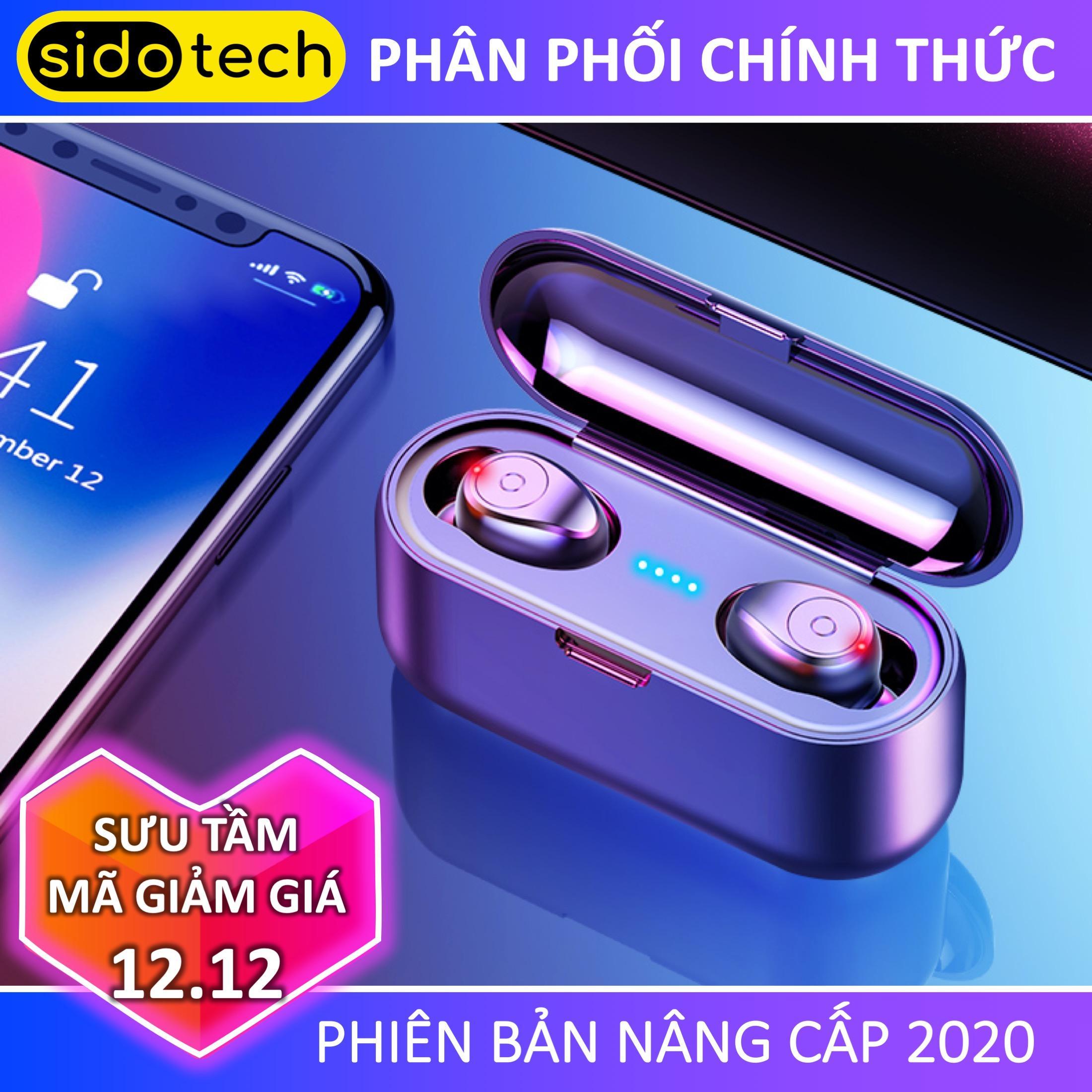 Giá Cực Tốt Khi Mua Tai Nghe Bluetooth Khong Day 5.0 Amoi F9 Pin Trâu Sạc Nhanh, Chống Nước, Với Chất âm Thanh HiFi TWS True Wireless Hifi Siêu Bass, Micro HD Chống ồn Tương Thích Với Các Dòng điện Thoại Smartphone
