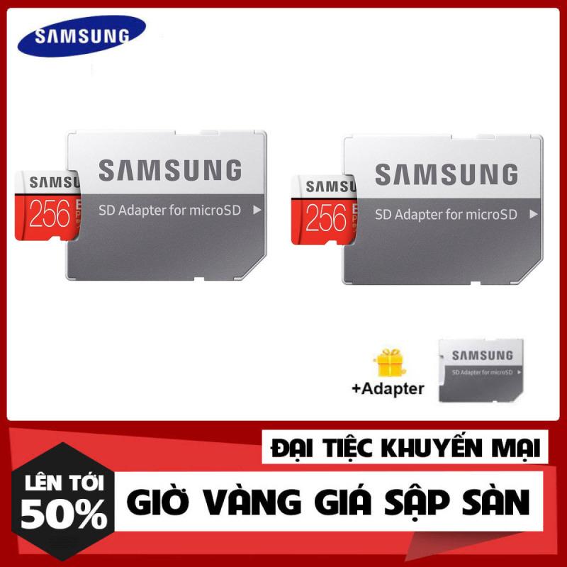 [Hàng Mới Về] Bộ 2 Sản Phẩm Thẻ nhớ MicroSDXC Samsung Evo Plus 256GB U3 4K R100MB/s W60MB/s - Box Anh New Kèm Adapter New 2021