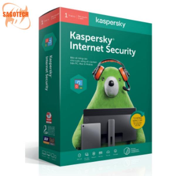 Bảng giá Phần Mềm Kaspersky Internet Security 1PC Phong Vũ
