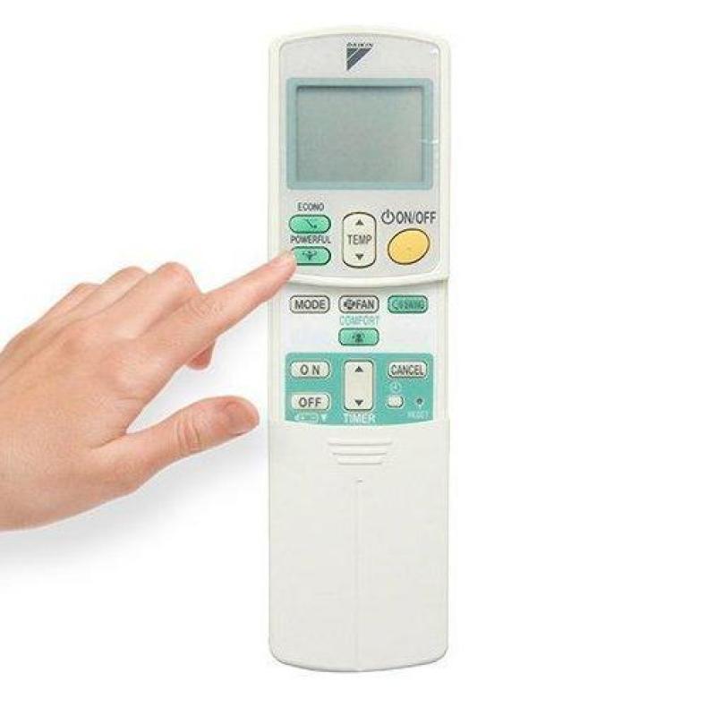 Điều khiển điều hòa Daikin 1 chiều và 2 chiều Inverter.