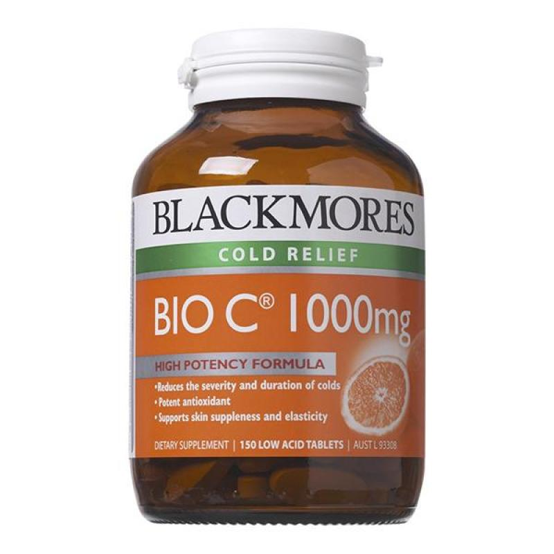 Bổ sung vitamin C Blackmores Bio C 1000mg 150 viên của Úc cao cấp