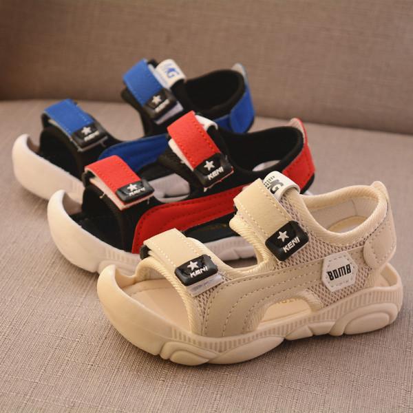 Dép sandal trẻ em quai hậu mũi cao cho bé trai chống trơn (C6), chất liệu cao cấp, bền, nhẹ, mềm mại và êm chân, thiết kế tinh tế, di chuyển dễ dàng và thoải mái