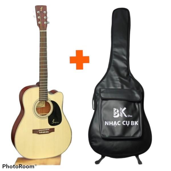 Guitar Acoustic Ba Đờn J200 âm thanh cực hay, chất lượng tốt - Rẻ hơn 10% so với giá sản xuất- Tặng Full phụ kiện